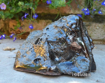 Abstract Ceramic Sculpture - Perfect For Gardens and Home Décor