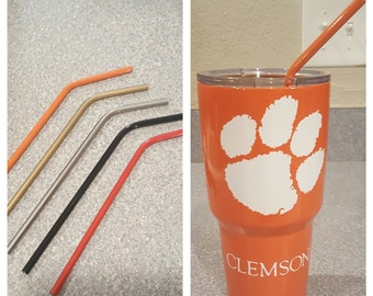 Stainless Steel Powder Coated Straws
