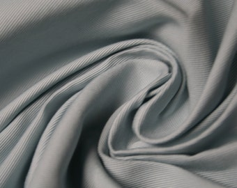 Very fine grosgrain fabric colour light blue (angel)