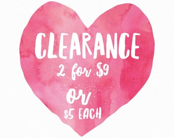 Clearance! Prints & Greetig Cards
