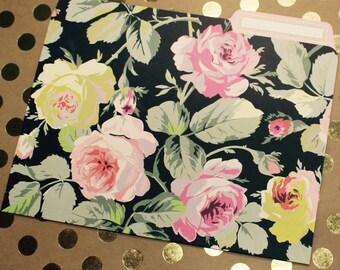 Anna Griffin Grace Black Collection - 12 File Folders
