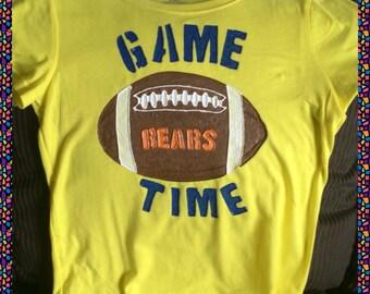 Football T-shirt Hand Painted