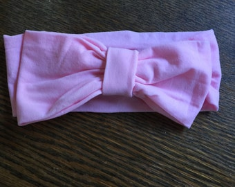 Baby Bow Nylon Headband