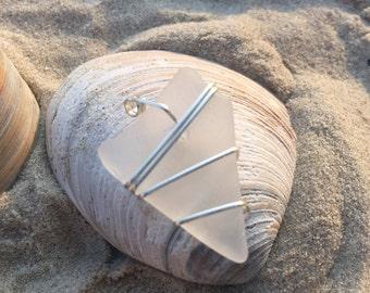 Genuine Sea Glass Pendant