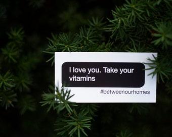 Vitamins ArtPrize Sticker