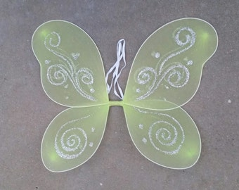 Tinkerbell Fairy Wings, Green Butterfly Wings (Available in Purple, Blue, Green)