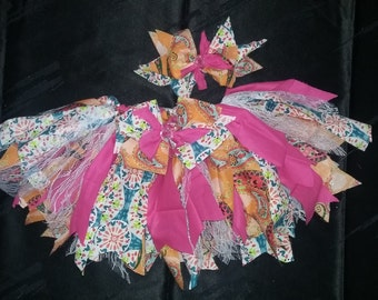 Shabby chic rag skirt