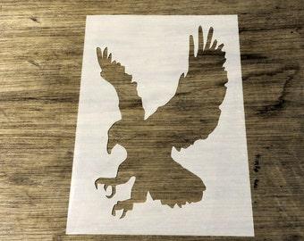 Bird Of Prey Stencil