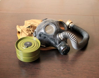 Children gas mask Soviet gas mask Steampunk party Respirator mask Soviet army gas mask Halloween mask Gas mask ussr Cyber mask Vintage mask