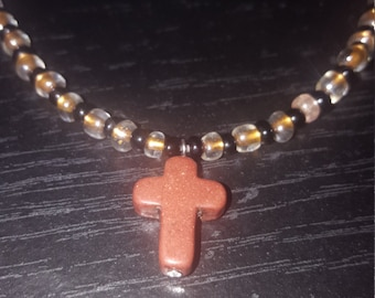 Brown cross