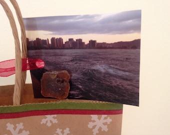 Beach Gift Tags, Wedding Gift Tags, Hawaii Gift Tags, Photography Gift Tags, Gift tags, Wrapping, Sea Glass Gift Tags, 9 tags, Sea Glass