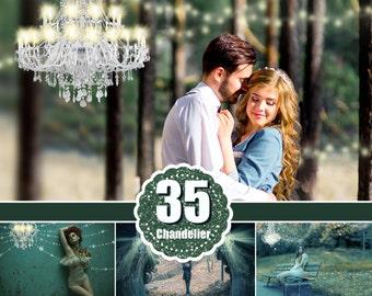 35 Chandelier overlays, light overlay, lamp, sunburst, magic fairy fantasy light, Light lighting effects, Photoshop Overlay, png