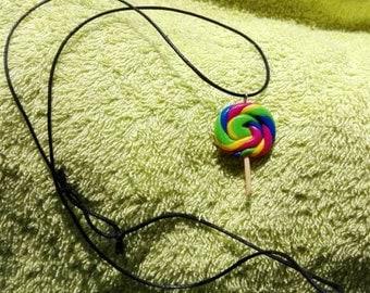Various lollipop necklace