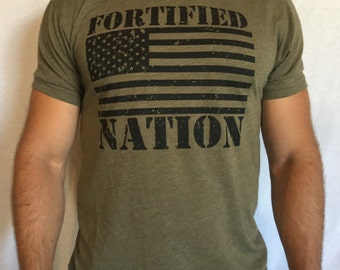 Train for the Unknown - Men's t-shirt Military Green