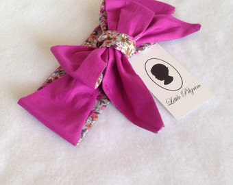 Oversized Bow Head Wrap