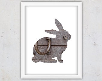 Bunny Print, Rabbit Print, Poster Photography Print, Bunny Downloadable, Digital Download Art, Animal Wall Art Print, Rabbit Photography