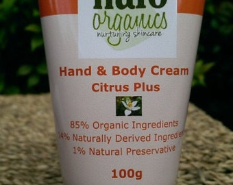 Hand & Body Cream Citrus Plus