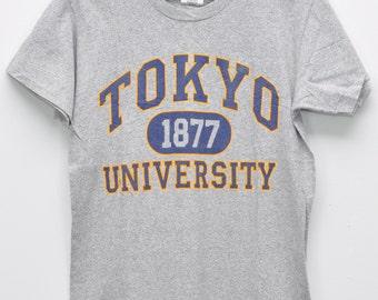 Vintage Tokyo Shirts University Awesome T Shirts Small Size