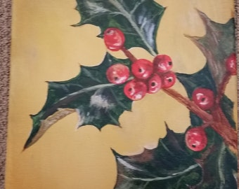 Holly berries.  #9