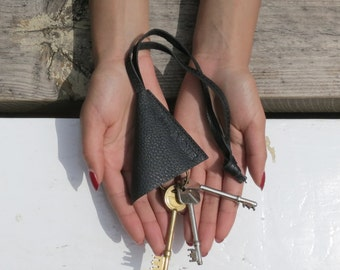 SALI Leather Keychain (in 4 colours)