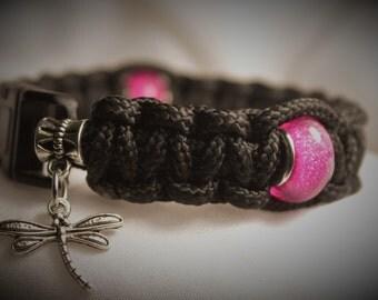 Para-Bead Bracelet - Pink Sparkle