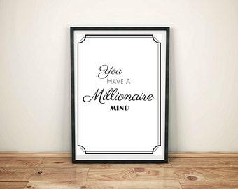 i have a millionaire mind pdf