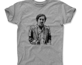 Pablo Escobar Sketch K Toddler and Youth T-Shirts (am)