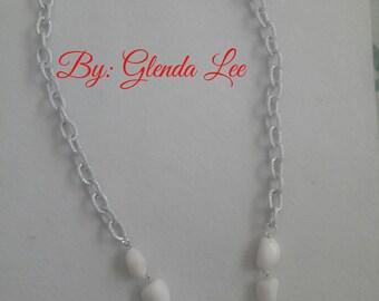 Necklace with Calcita Stones