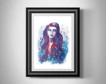8x10 Print | Mermaid Portrait