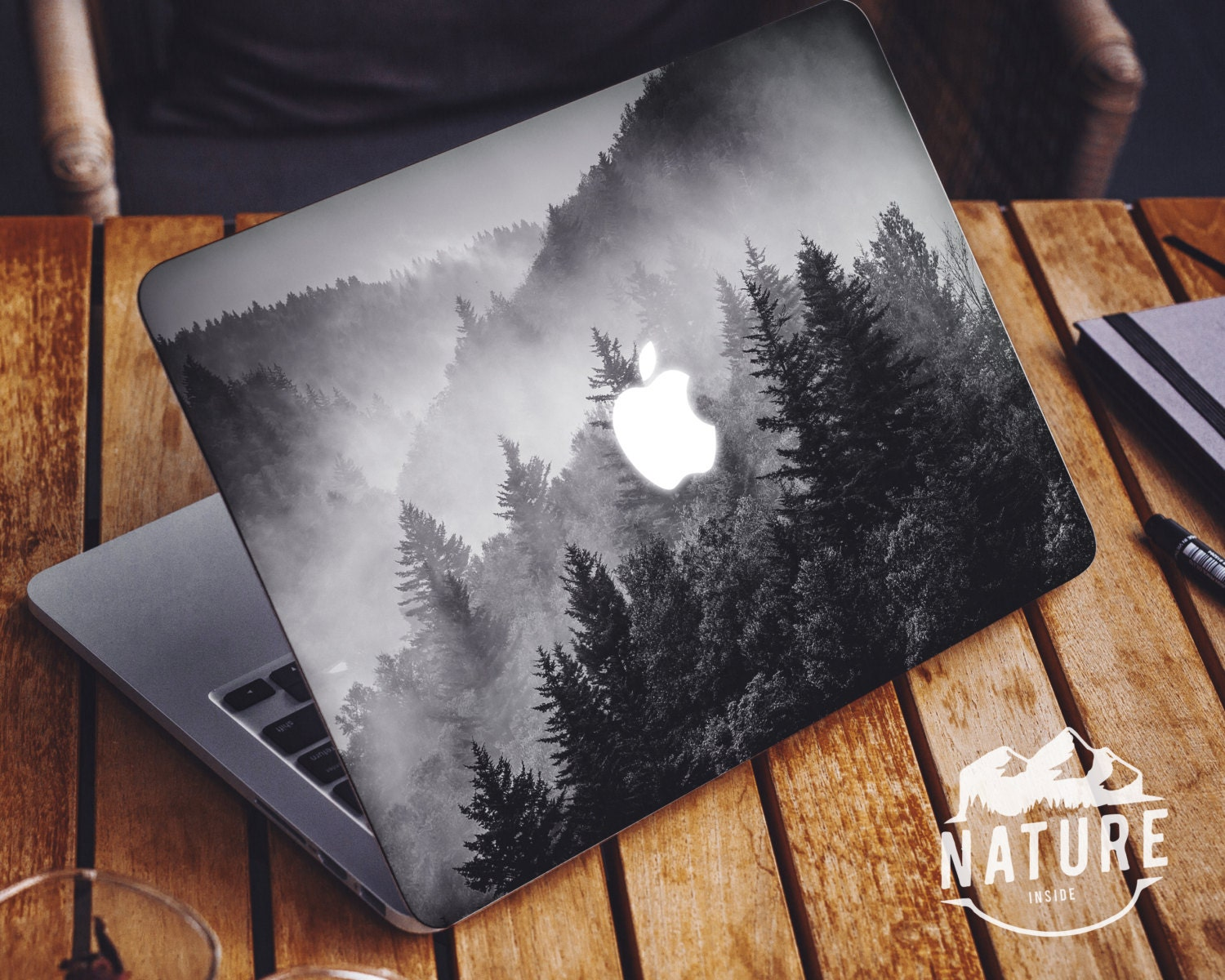Skin For Macbook Pro With Mountains Laptop Vinyl Skin Decal - Custom vinyl decals macbook