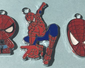 Spiderman Charms