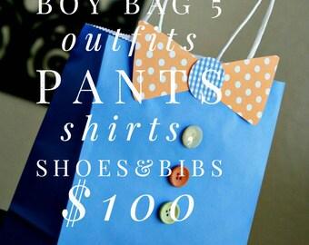 The 100 dollar boy bag