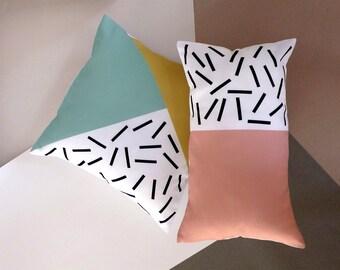 Cushion cover design geometrico.45x45 cm