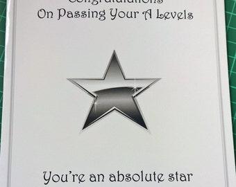 A5 Graduation Card