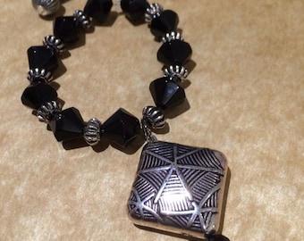 Metallic Beads Jewellery Set