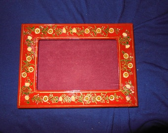 Hand Made Paper Mashes photo frame