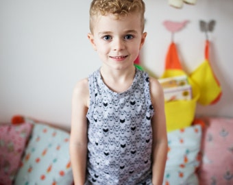 Hugo 'Vest' - Vests- Tee-Shirt - Tees - Kidswear - Children's Wear - Kids Clothes - Girls Clothes - Boys Clothes - Girls Tops - Boys Tops