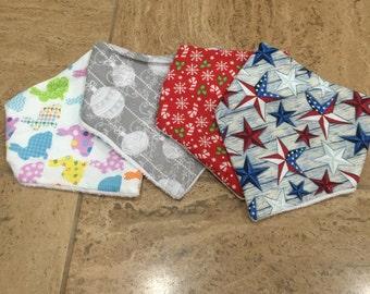 Pick one              Holiday Handkerchief bib
