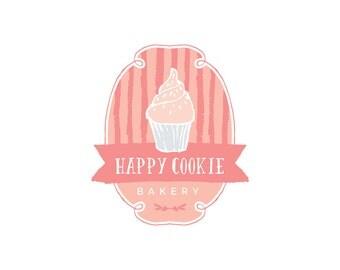 Premade Logo, Bakery Business Logo, Cookie Logo Design, Cupcake Logo Design, Business Logo, Boutique Logo Design, pl3