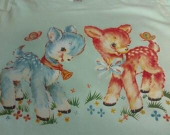 Kitschy deer shirt