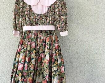 Vintage prom dress 80 girls