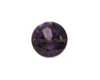 Loose Round Cut Alexandrite 1.75mm CZ Stone