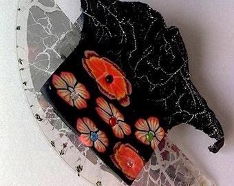 Wearable Art Brooch