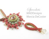 Sprockets Coral Beadweaving kit and tutorial
