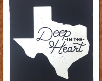 Items Similar To Deep In The Heart Pocket Tees On Etsy