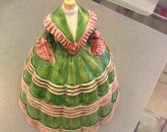 Victorian Gown Cookie Jar