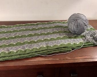 Three Waves Stitch Blanket