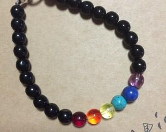 Rainbow chakra bracelet