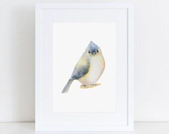 Watercolour Bird Print, Printable Art, Watercolour art, Bird Art, Home Decor, Nursery Art, Watercolour print, Nursery print, Minimalist Art