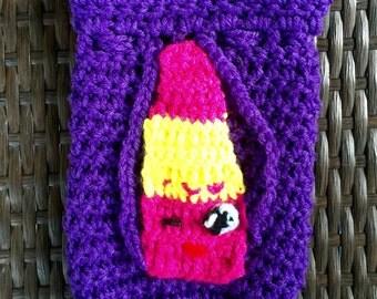 Crochet Shopkin Inspired Cinch Sak